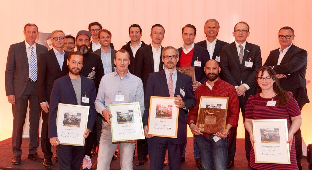 FinTechGermany Award 2019 - Preisträger und Organisatoren